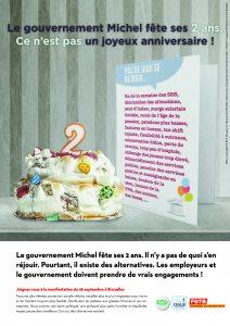 Affiche Gouvernement Michel