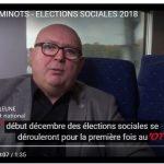 CGSP CHEMINOTS – Elections sociales 2018 – Votez 2 (Vidéo)