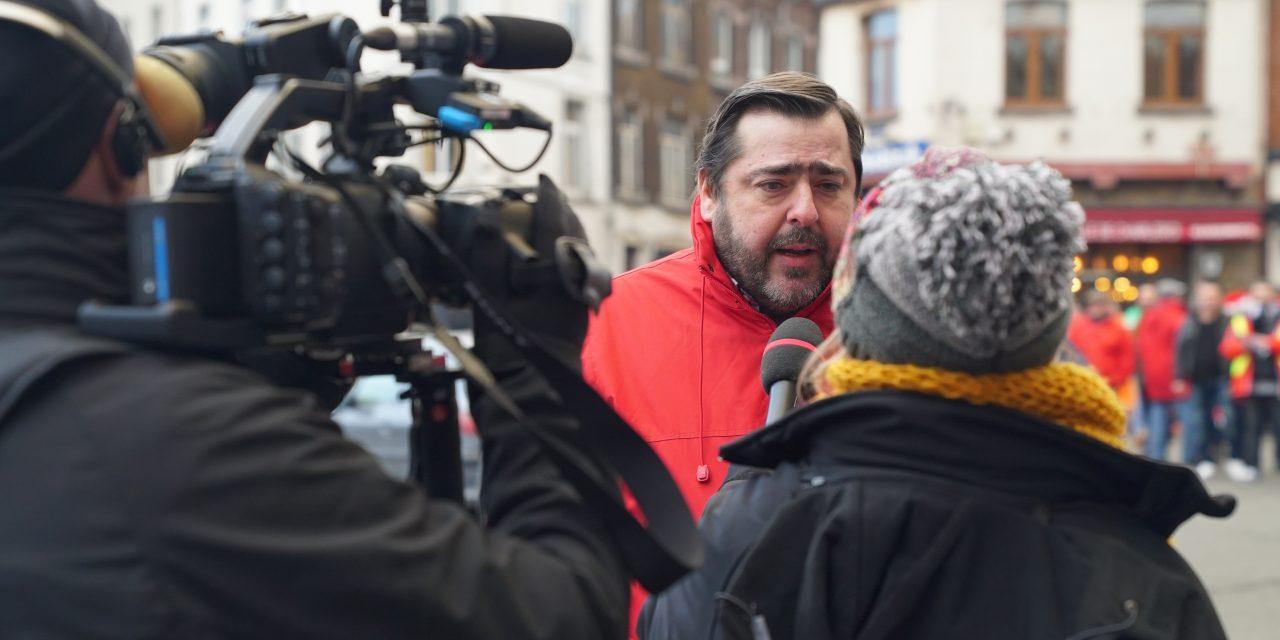 14-12-18  Grève Générale – Charleroi – Patrick LEBRUN (Vidéo)