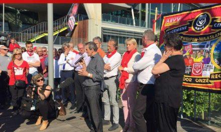 La condamnation du président de la FGTB d'Anvers rend l'action syndicale criminelle