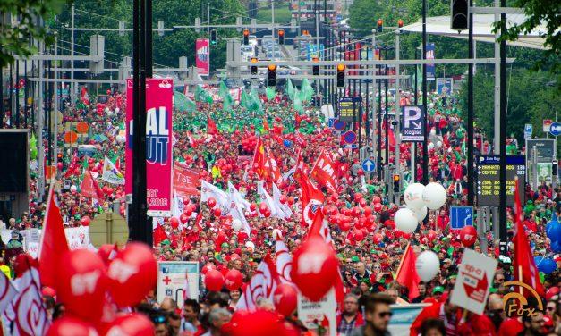 16 mai 2018 : 70.000 NON à la reforme des pensions !
