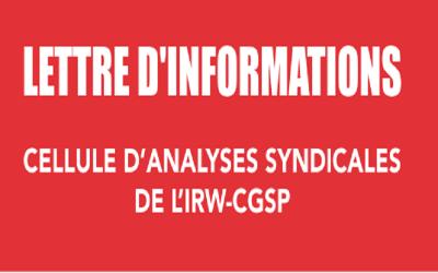 """Lettre d'informations 8 : """"Spéciale : Plan de relance"""""""