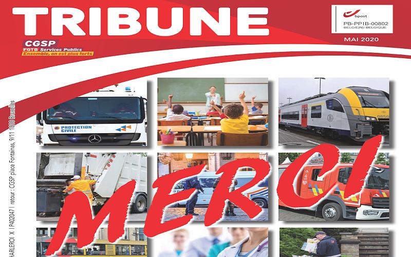 Votre Tribune de mai 2020 est en ligne !