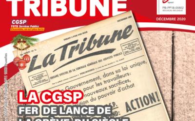 Votre Tribune de décembre 2020 est en ligne !