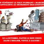 Le 14 octobre, votez à GAUCHE